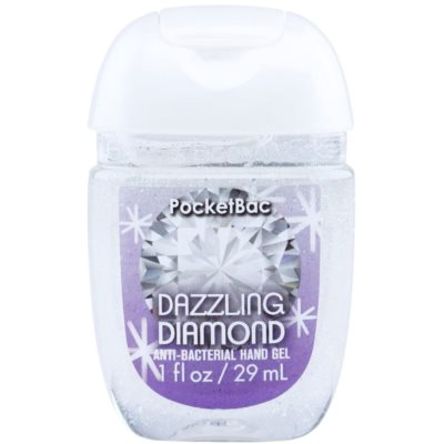 Bath & Body Works PocketBac Dazzling Diamond gel antibactérien mains à paillettes