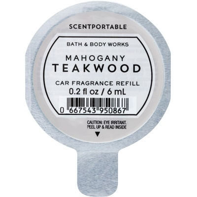 Bath & Body Works Mahogany Teakwood Car Air Freshener  Refill