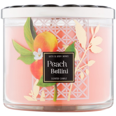 Bath & Body Works Peach Bellini Scented Candle