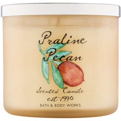 Bath & Body Works Praline Pecan ароматна свещ