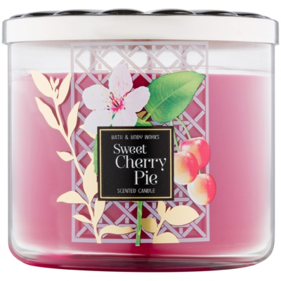 Bath & Body Works Sweet Cherry Pie bougie parfumée