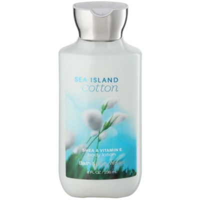 Bath & Body Works Sea Island Cotton Body Lotion for Women 236 ml