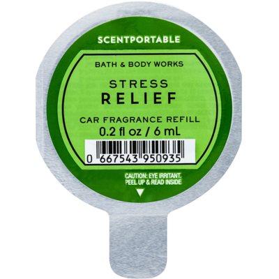 Bath & Body Works Stress Relief ambientador auto recarga