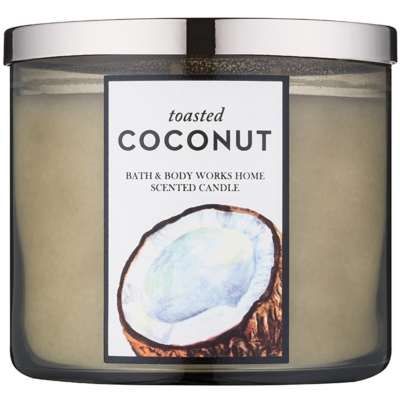 Bath & Body Works Toasted Coconut illatos gyertya