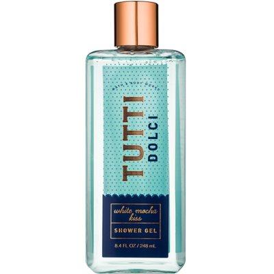 Bath & Body Works Tutti Dolci White Mocha Kiss Duschgel für Damen 248 ml