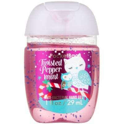Bath & Body Works PocketBac Twisted Peppermint gel antibactérien mains