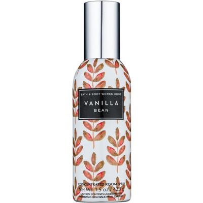 Bath & Body Works Vanilla Bean spray lakásba
