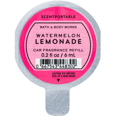 Bath & Body Works Watermelon Lemonade ambientador auto  recarga de substituição
