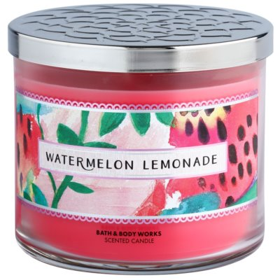 Bath & Body Works Watermelon Lemonade ароматна свещ   I.