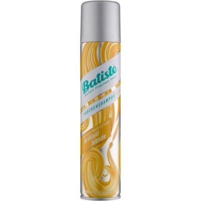 сухий шампунь для освітленого волосся
