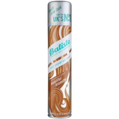 сухий шампунь для волосся коричневих відтінків