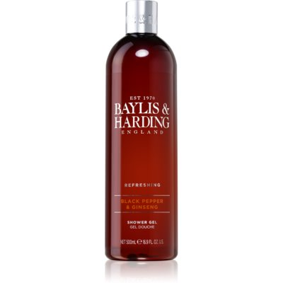 Baylis & Harding Black Pepper & Ginseng gel de douche
