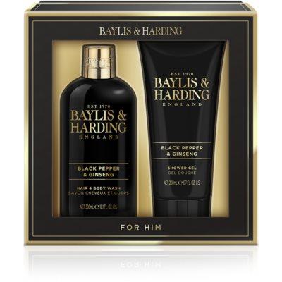 Baylis & Harding Black Pepper & Ginseng dárková sada III.