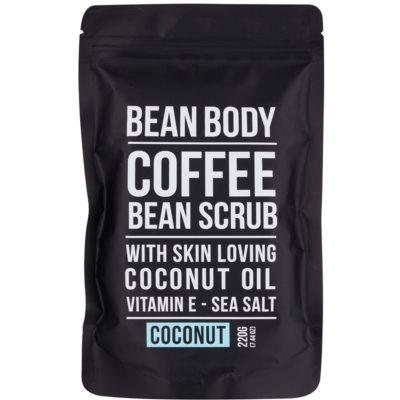 Bean Body Coconut Smoothing Body Scrub