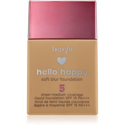Benefit Hello Happy fond de teint liquide SPF 15