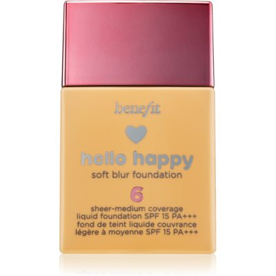 Benefit Hello Happy fond de teint liquide SPF 15