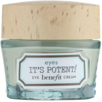 Benefit It´s Potent! роз'яснюючий крем для шкіри навколо очей проти темних кіл