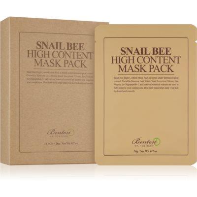 Cellaag Masker voor Complete Verzorging  met Slakken Extract