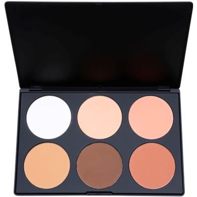 BHcosmetics Contour & Blush palette contour de visage