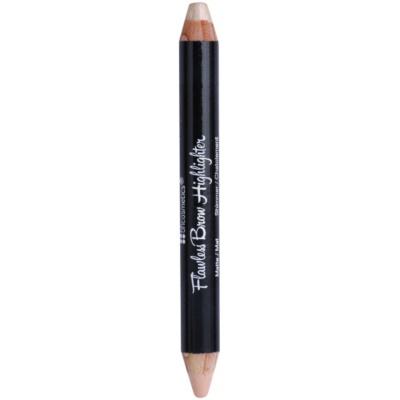 olovka za naglašavanje kontura obrva  2 u 1