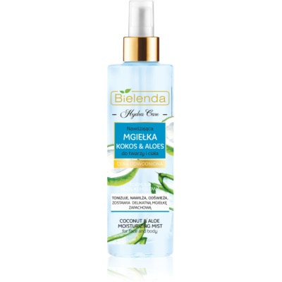 spray idratante per viso e corpo
