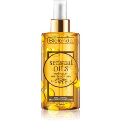 hranjivo ulje za tijelo s vitaminom C