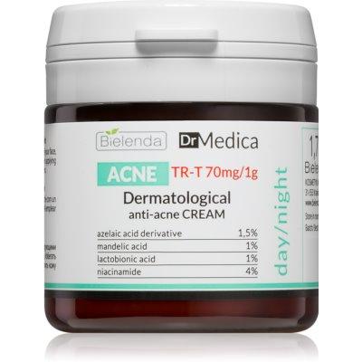 Bielenda Dr Medica Acne creme facial para pele oleosa propensa a acne