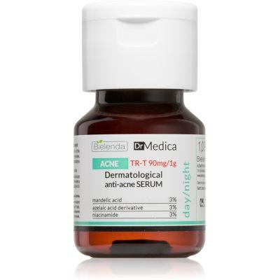 Bielenda Dr Medica Acne Hautserum zur Regulierung übermäßiger Talgproduktion und gegen Akneerscheinungen