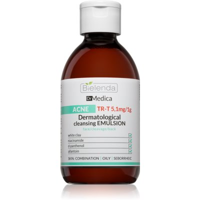 Dermatologische Reinigungsemulsion für fettige Haut mit Neigung zu Akne