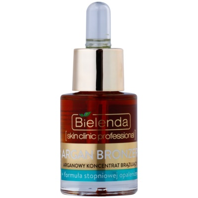 Bielenda Skin Clinic Professional Argan Bronzer ulje za samotamnjenje za lice