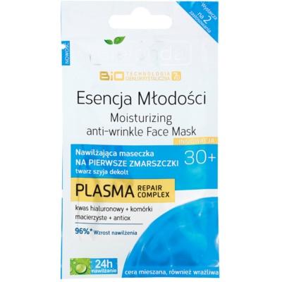Hydratisierende Maske für erste Falten