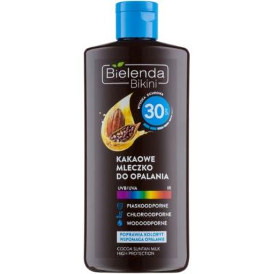 Bielenda Bikini Cocoa захисне молочко для засмаги SPF 30