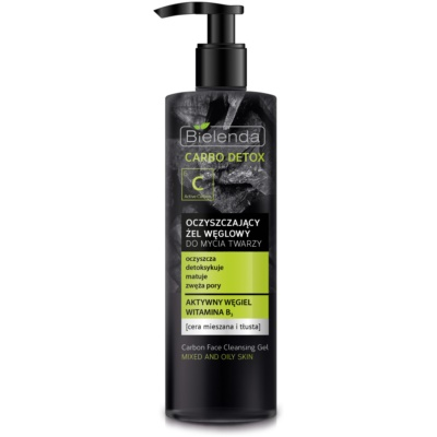 Cleansing Gel with Activated Charcoal for Combiantion and Oily Skin