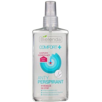 Antitranspirant-Spray für Füssen