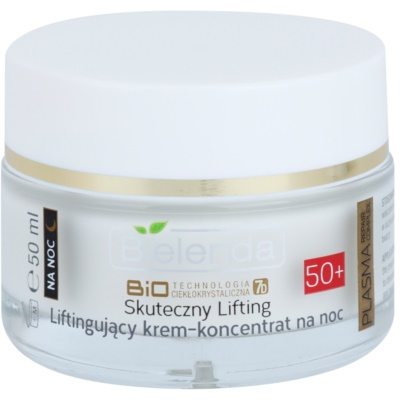 Active Night Cream With Anti-Wrinkle Effect