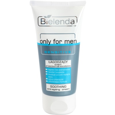 Bielenda Only for Men Sensitive creme apaziguador antirrugas