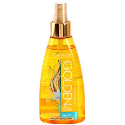 tělový olej ve spreji s hydratačním účinkem