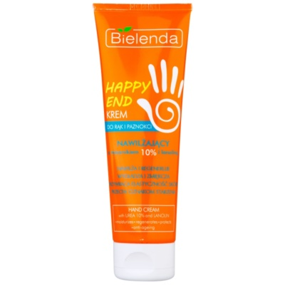 Moisturizing and Softening Cream On Hands And Nails