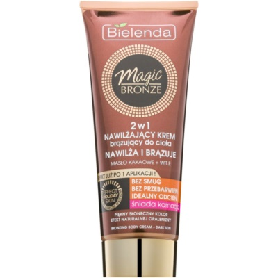 Self-Tanning Cream for Dark Skin With Moisturizing Effect
