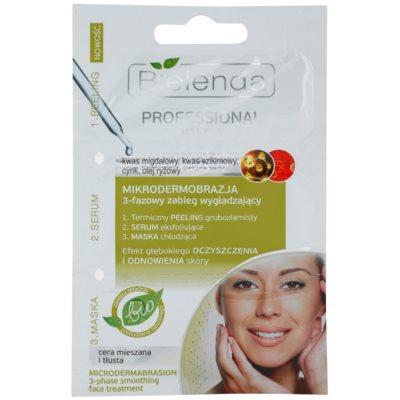 peeling, sérum e máscara para pele oleosa propensa a acne