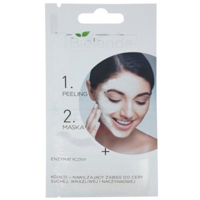 Peeling und Maske für empfindliche und gerötete Haut