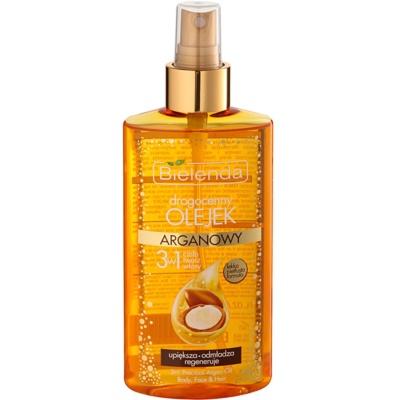 Bielenda Precious Oil  Argan подхранващо олио за лице, тяло и коса