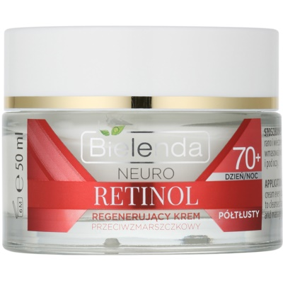 crema rigenerante antirughe 70+