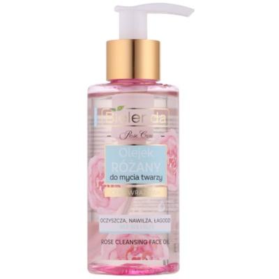 óleo de limpeza cor de rosa para pele sensível