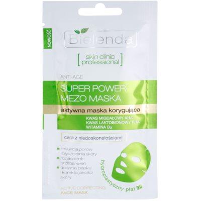 тканинна маска проти недоліків проблемної шкіри