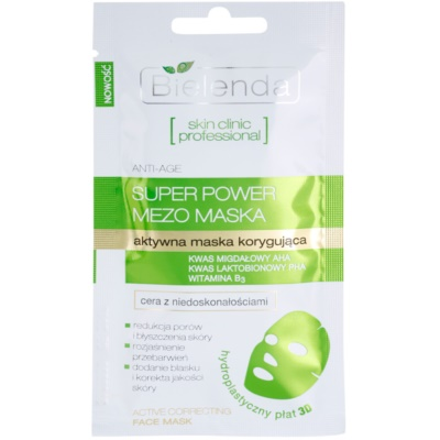 Cloth Facial Mask Against Imperfections Acne Prone Skin