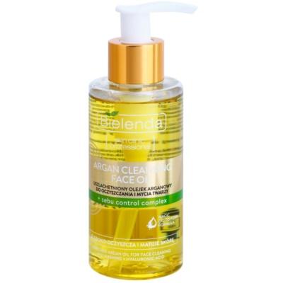 Argan-Reinigungsöl für fettige Haut