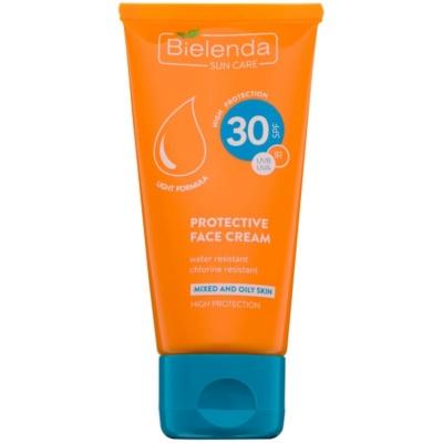 Bielenda Sun Care zaštitna krema za masnu i mješovitu kožu lica SPF 30