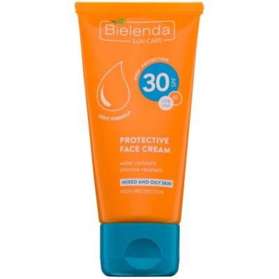 Bielenda Sun Care προστατευτική κρέμα για λιπαρή και μικτή επιδερμίδα SPF 30