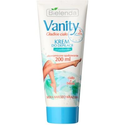 depilační krém pro citlivou pokožku